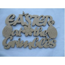 EASTER AT THE (SURNAME)