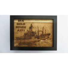RFA GOLD ROVER LASER ENGRAVED PHOTOGRAPH