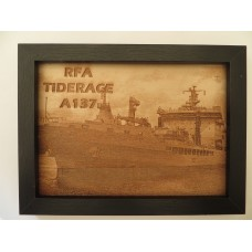 RFA TIDERACE LASER ENGRAVED PHOTOGRAPH