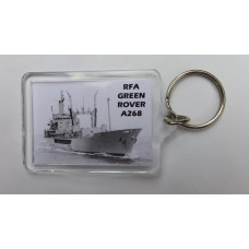 RFA GREEN ROVER KEYRING/FRIDGE MAGNET/BOTTLE OPENER