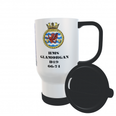 HMS GLAMORGAN D19 66-74 TRAVEL MUG