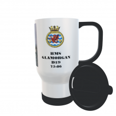HMS GLAMORGAN D19 (75-86) TRAVEL MUG