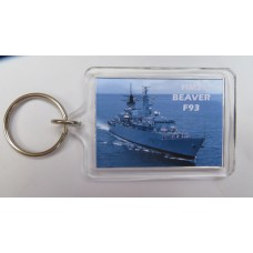 HMS BEAVER F93 KEYRING/FRIDGE MAGNET/BOTTLE OPENER