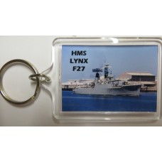HMS LYNX F27 KEYRING/FRIDGE MAGNET/BOTTLE OPENER
