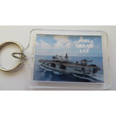 HMS OCEAN L12 KEYRING/FRIDGE MAGNET/BOTTLE OPENER