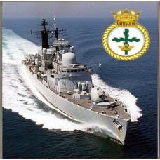 HMS NOTTINGHAM D91 COASTER