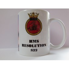HMS RESOLUTION S22 MUG